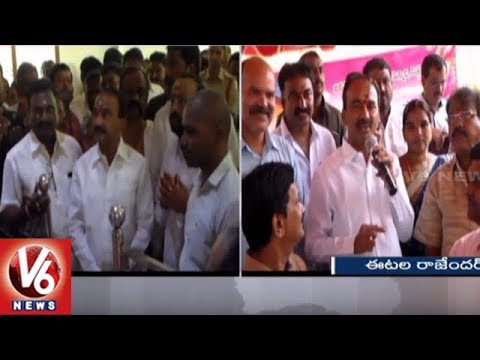 Minister Etela Rajender Participate In Guru Purnima Festival Celebrations | V6 News