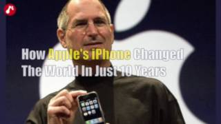 How iPhone changed the world in just 10 years!