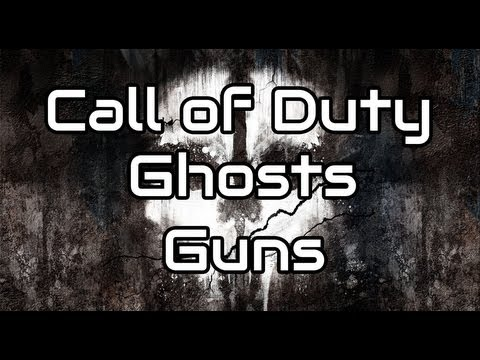 Call of Duty Ghosts Guns