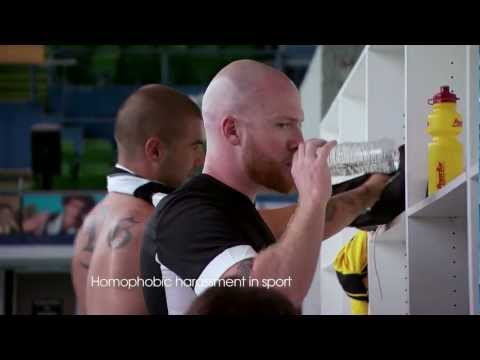 No to homophobia | gay bullying tv ad | gay afl ad