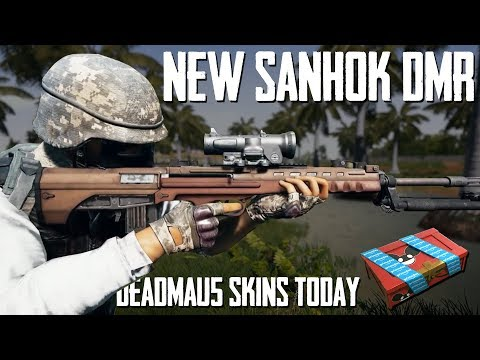 PUBG News | NEW Sanhok DMR, Deadmau5 Skins TODAY, Leaked eSports Skin