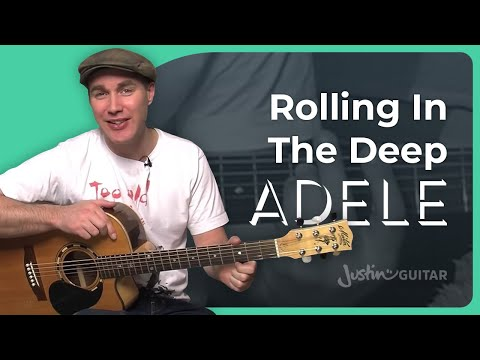 How to play Rolling In The Deep by Adele (Guitar Lesson SB-209)