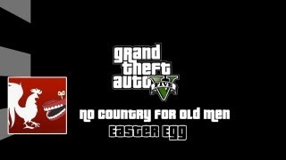 Grand Theft Auto V - No Country For Old Men Easter Egg