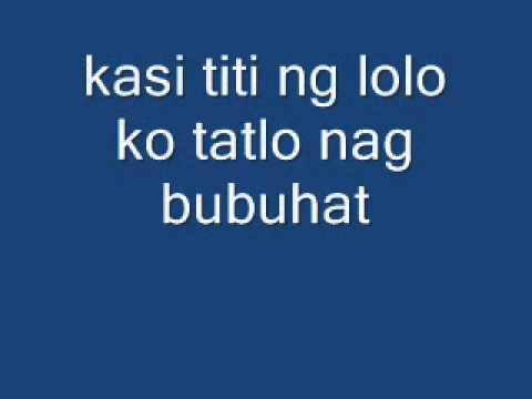 free style 2010 patigasan lyrics