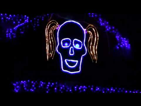 Halloween Light Show 2011 -  I Want Candy