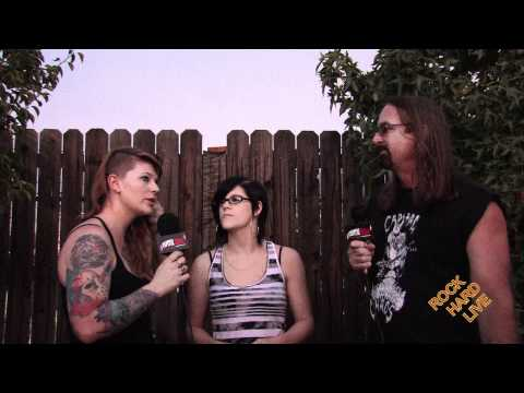 Kittie interview with Morgan and Mercedes on ROCK HARD LIVE
