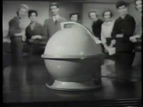 1950 S Hoover Constellation Vacuum Cleaner Tv Commercial