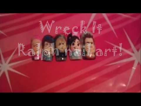 Wreck it Ralph Nail Art Nails