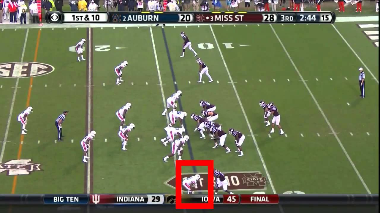 Jonathan Jones vs Mississippi State (2014)