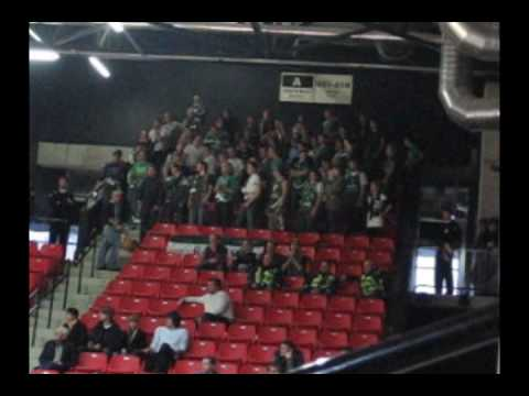 "Green White Boys @ ""Perlas"" vs ""Žalgiris"" (81:100), 2009.10.17"