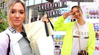 shopping in tokyo + trying japanese vending machines!