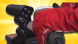 Playstation Kolunu Kesip İçine Baktık!