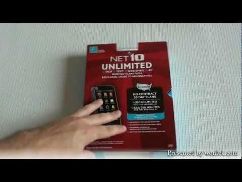 Net10 Motorola EX124G Unboxing