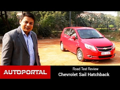 Chevrolet Sail Hatchback Test Drive Review - Autoportal