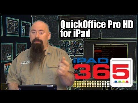 iPad365: QuickOffice Pro HD