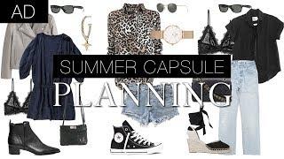 Summer capsule prep   wardrobe clearout, wishlist & visual idea