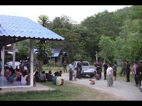 จนท.ปิดล้อมตรวจค้นหมู่บ้านพักยาบ้าที่เชียงใหม่