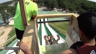 Royal Flush Water Slide Backwards at BSR Cable Park