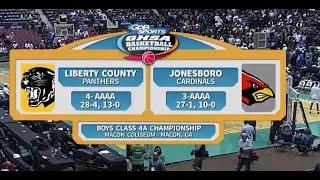 4A Boys Liberty County vs. Jonesboro (2016)