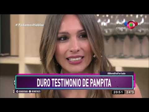 ¡Duro testimonio de Pampita!
