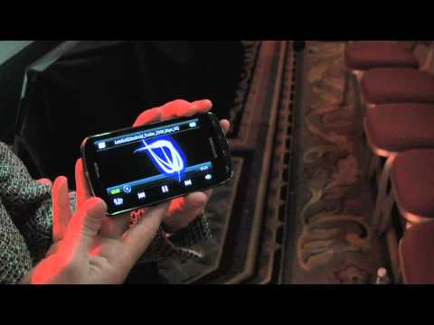 Samsung 4G LTE Smartphone Demo at CES 2011