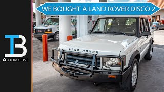 WE BOUGHT A LAND ROVER DISCOVERY 2 - Discovering the Disco: Part 1