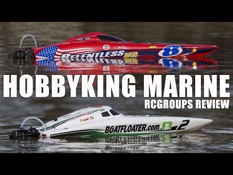 Hobbyking Marine Series - Relentless V2 and Scott Free - RCGroups Review