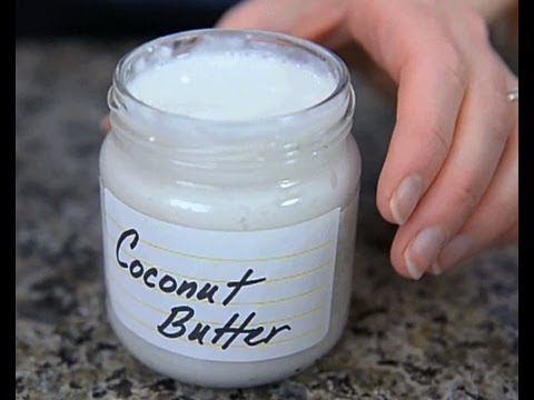 Homemade Coconut Butter in 90 Seconds