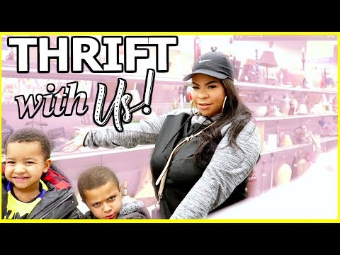 THRIFT WITH ME 2018! SHOPPING ON A BUDGET AT A LOCAL THRIFT STORE FOR NAME BRANDS + MORE
