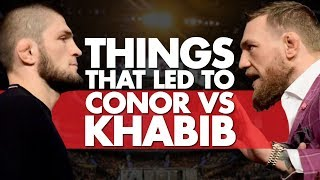 10 Significant Things That Led To Conor vs Khabib