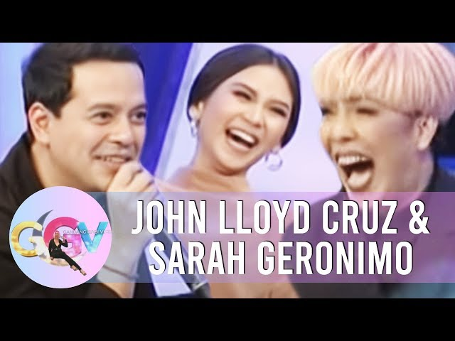 GGV: Sarah and John Lloyd as cookie endorsers