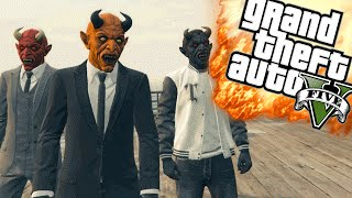 THE HORROR GAMES! - GTA 5 Online Funny Moments