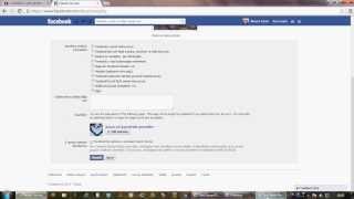 FACEBOOK HESAP DONDURMA (FACEBOOK ACCOUNT FREEZE)