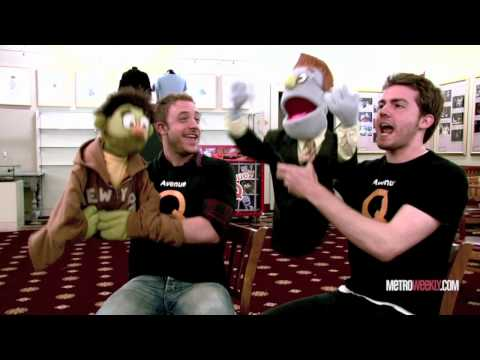 Coverboy Q - Avenue Q's Nicky & Rod answer personal questions