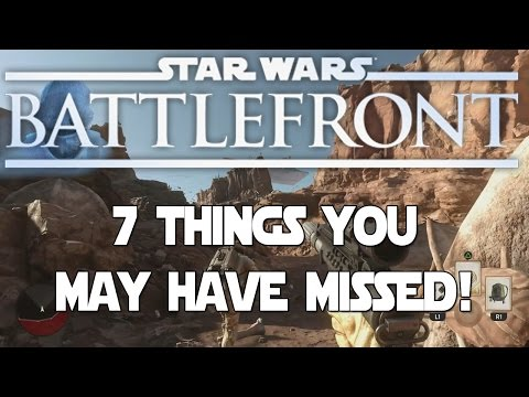 Star Wars: Battlefront Missions Gameplay - 7 Things You May Have Missed!