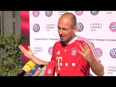 Arjen Robben interview about Thomas Hitzlsperger homosexuality coming out