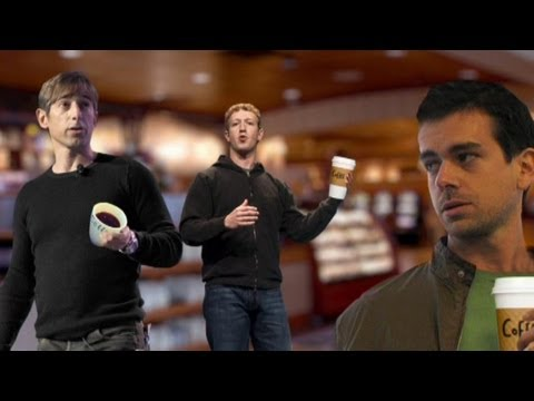 High-Tech Coffee War Pits Dorsey vs. Zuckerberg vs. Pincus