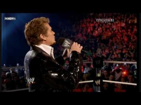 WWE Raw David Hasselhoff & KITT @ O2 Arena