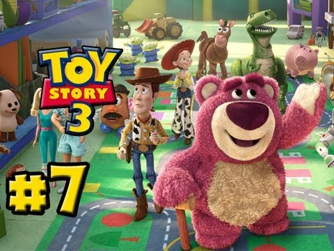 Toy Story 3 The Video-Game - Part 7 - Prison Break (HD Gameplay Walkthrough)