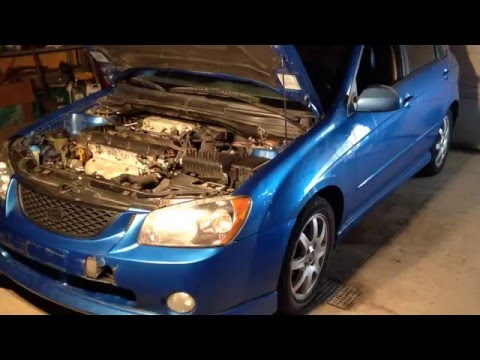 Kia Spectra Idle Air Control Fix - Rough Idle