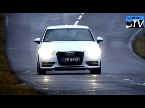 2013 Audi A3 2.0TDi (150hp) - Autobahn-Test (1080p FULL HD)