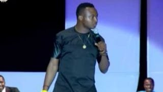 funnybone and Emeka Smith at Acapella goes to Church
