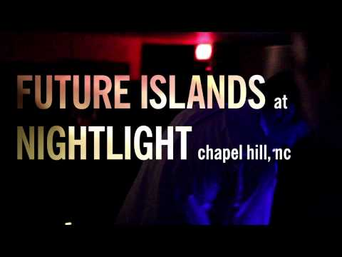 FUTURE ISLANDS live video at nightlight performing /AN APOLOGY/