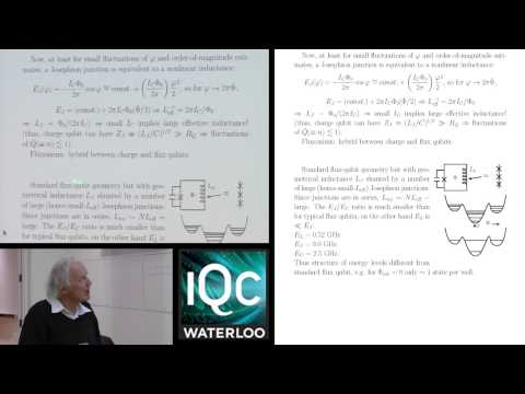 The Physics of Superconducting Devices - Anthony Leggett - Lecture #10 - 2014