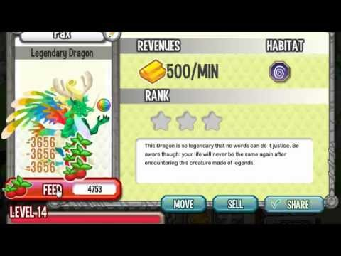 Dragon City Legendary Dragon How to Breed on Facebook Tutorial