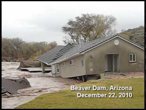 Markland Dam Flooding Beaver Dam Arizona Flood 2010