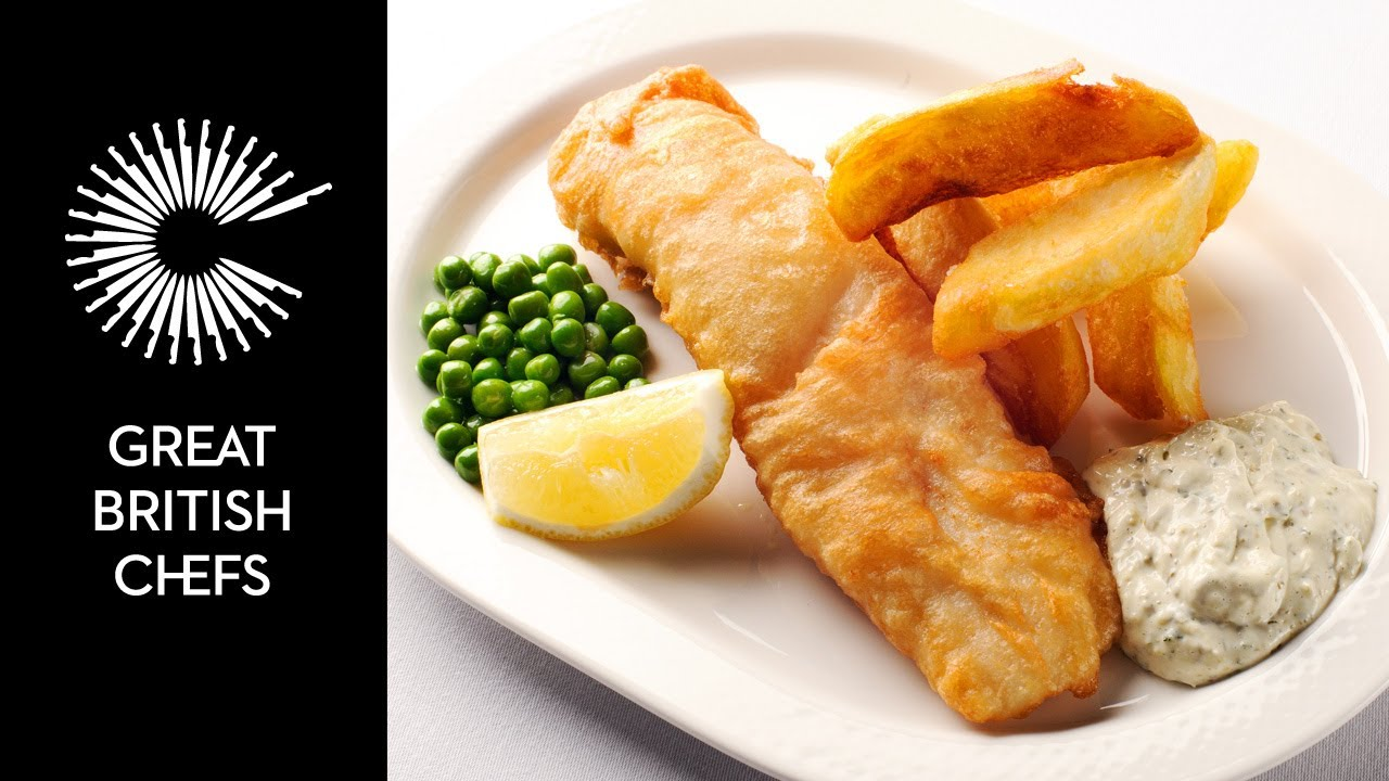 How to make fish and chips with nathan outlaw youtube for How to make fish and chips