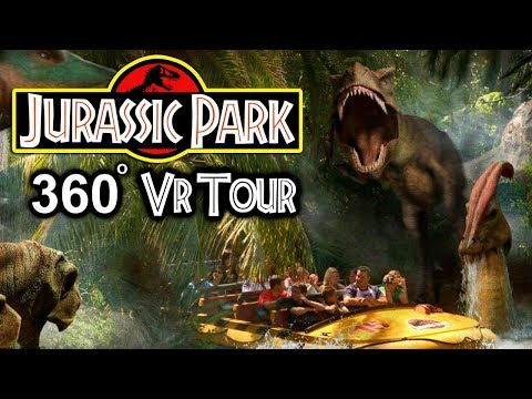 JURASSIC PARK THE RIDE IN VIRTUAL REALITY!!!