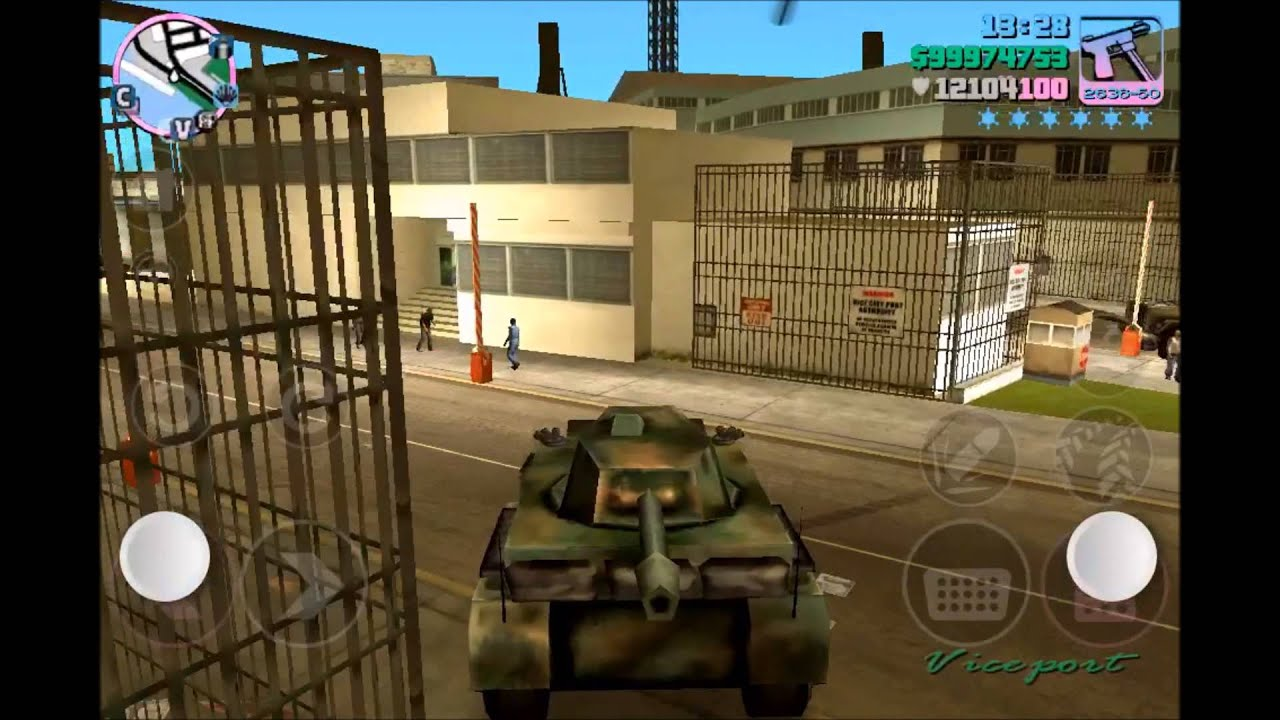 gta vice city iphone tank youtube