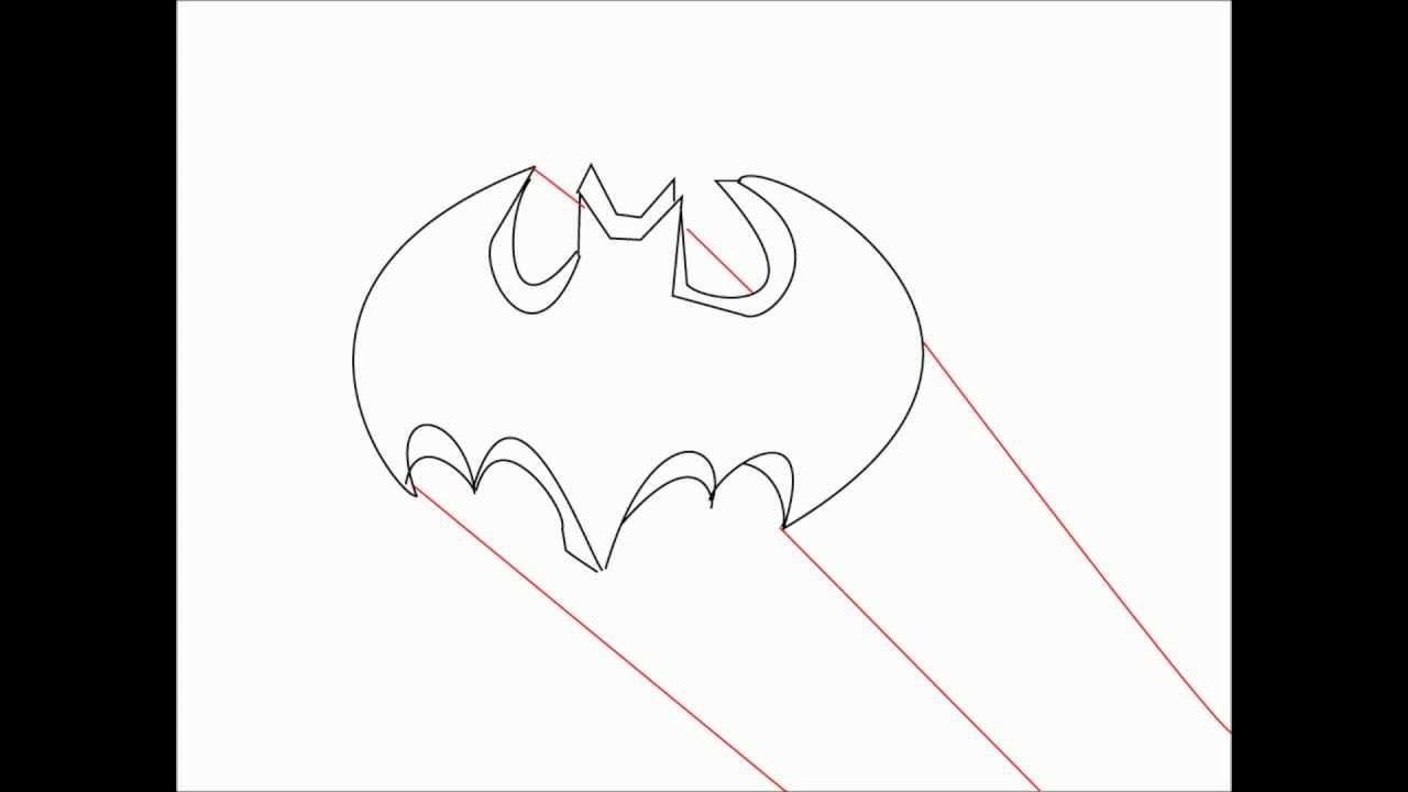 how to draw the broncos symbol